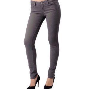 Paige Skyline Skinny Jeans Gray